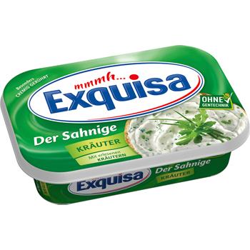 Exquisa Frischkäse oder miree Frischkäse