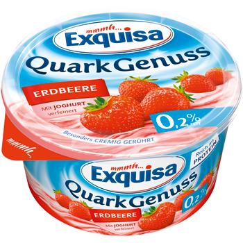 Exquisa Der Cremig-Feine oder Quark Genuss