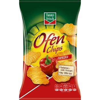 funny-frisch Ofen Chips, Riffels oder Erdnuss Flippies