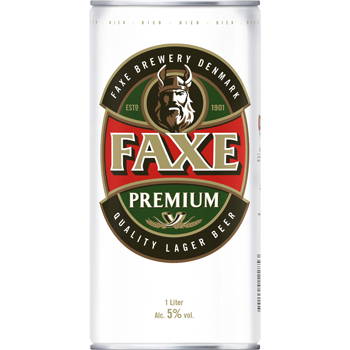 Faxe Premium Quality Lager Beer