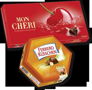Mon Chéri oder Ferrero Küsschen