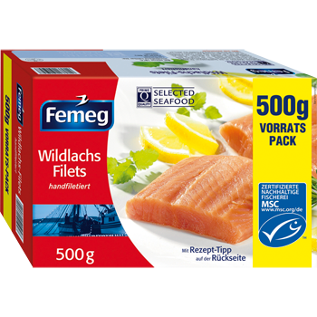 Femeg Wildlachs Filets