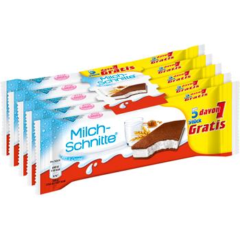 kinder Milch-Schnitte, Maxi King oder Pinguí