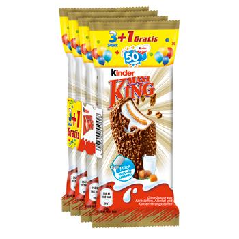 kinder Maxi King, Pinguí, Choco fresh oder Milch-Schnitte