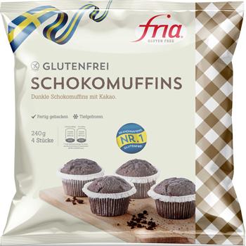 Fria Schokomuffins oder Browniekuchen