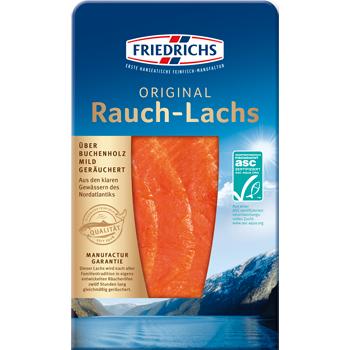Friedrichs Original Rauch-Lachs oder Graved-Lachs