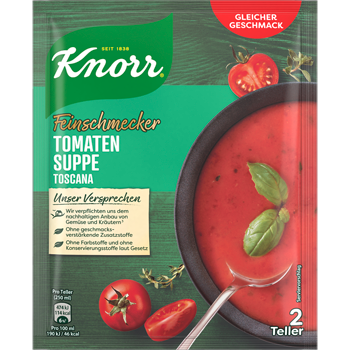 Knorr Feinschmecker Suppen