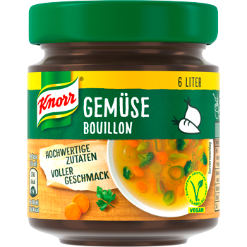 Knorr Kraft Bouillon oder Bouillon Pur