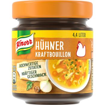 Knorr Kraftbouillon oder Bouillon Pur