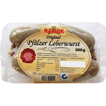 Kalnik - Original Pfälzer Leberwurst