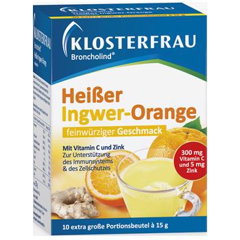 Klosterfrau Heißer Ingwer-Orange