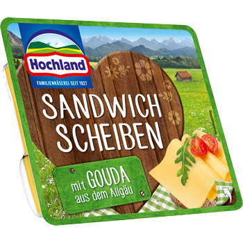 Hochland Sandwich Scheiben oder Hofkäse