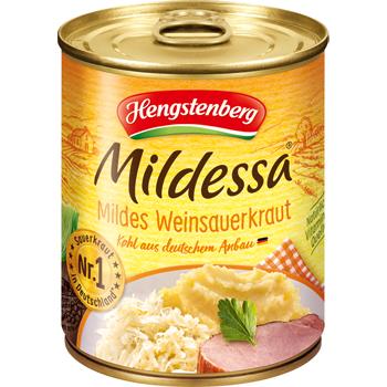 Hengstenberg Mildessa Mildes Weinsauerkraut