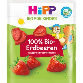 Bio Hipp Erdbeerschnitz