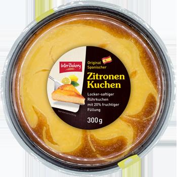 Interbakery Nuss-Rosinen oder Zitronen Kuchen