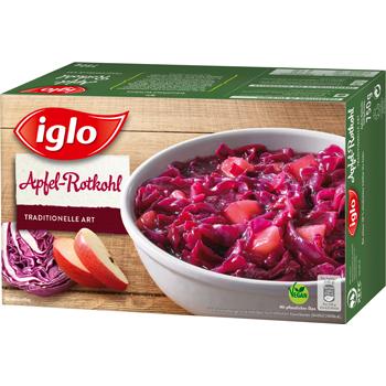 Iglo Apfel-Rotkohl