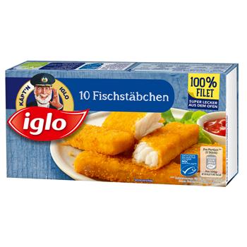 Käpt'n iglo 10 Fischstäbchen