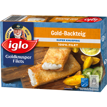 Iglo Goldknusper Filets