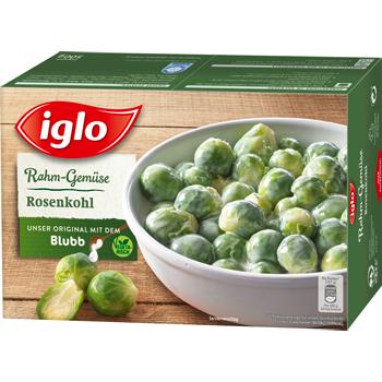 iglo Rahm-Gemüse oder Gemüse-Ideen