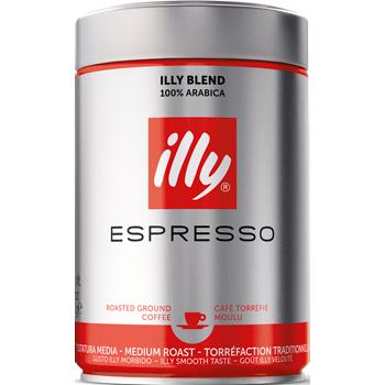 Illy Espresso oder Kaffeebohnen