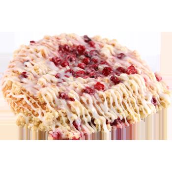 Johannisbeer-Streuselschnecke