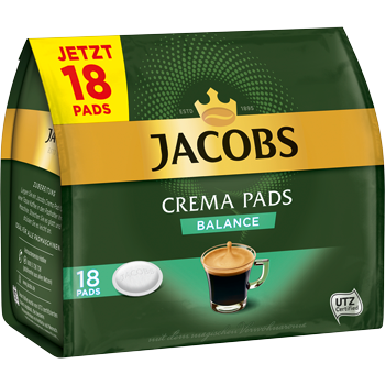 Jacobs Crema Pads