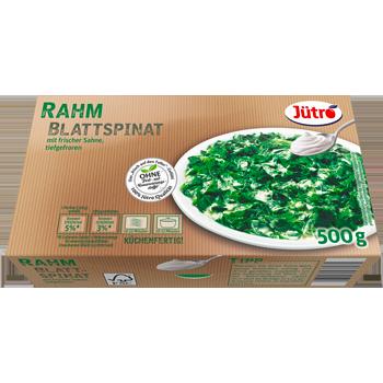 Jütro - Jütro Rahm Blattspinat