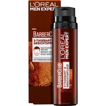 L'Oreal Paris Men Expert BarberClub 3-Tagebart & Gesichtspflege
