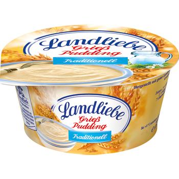 Landliebe Grieß, Sahne oder Vollmilch Pudding