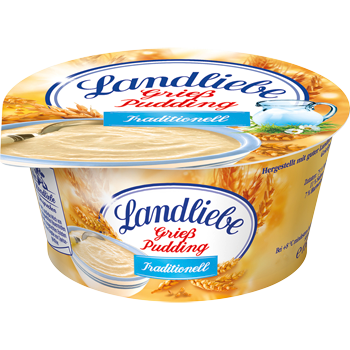Landliebe Grieß Pudding, Sahne- oder Vollmilchpudding