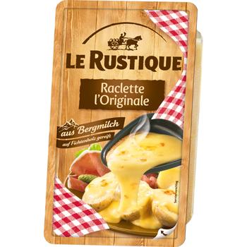 Le Rustique Raclette l'Originale oder Raclette ohne Rinde