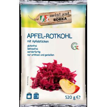 Apfel-Rotkohl