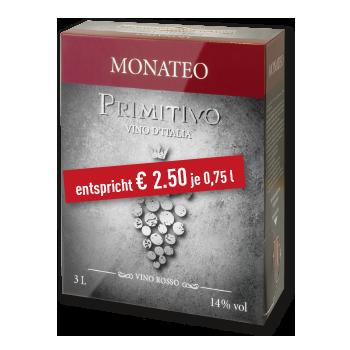 Italien - Apulien - Monateo Primitivo