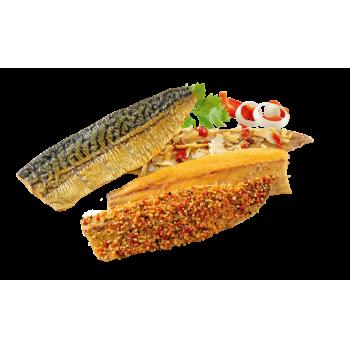 Geräucherter Makrelenfilet-Mix