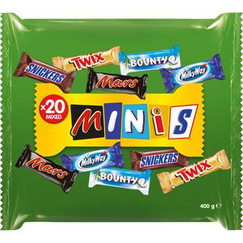 Mars Minis Mixed
