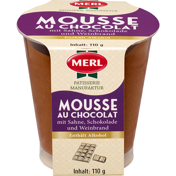 Merl Mousse oder Zabaione