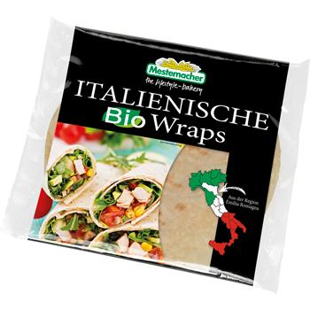 Mestemacher Italienische Wraps oder Dinkel Wraps