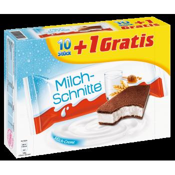 Ferrero Milch-Schnitte oder Kinder Pinguí
