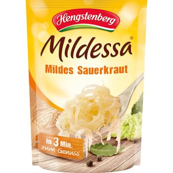 Hengstenberg Mildessa Mildes Sauerkraut oder Genießer Rotkohl
