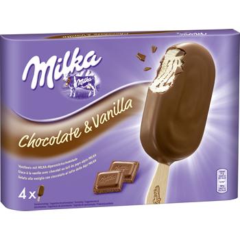 Milka, Daim, Oreo oder Toblerone Eis