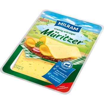 Milram Käse in Scheiben