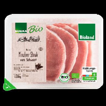 EDEKA Bio / Bioland - Bio-Schweineminutensteaks