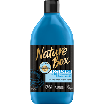 Nature Box Body Lotion, Shampoo oder Spülung