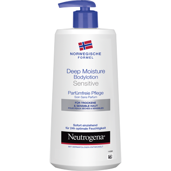 Neutrogena Deep Moisture Bodylotion oder Bodyspray