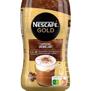 Nescafé Cappuccino oder Latte