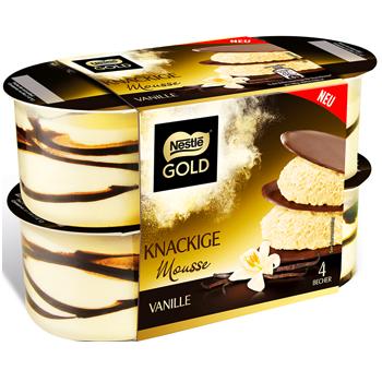Nestlé Gold Mousse oder Riegel