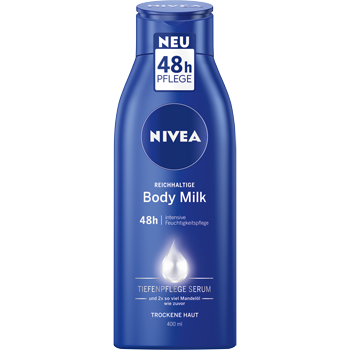Nivea Body Lotion oder Body Milk