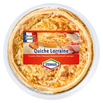 Steinhaus Quiche Lorraine, Elsässer Flammkuchen oder Zwiebelkuchen