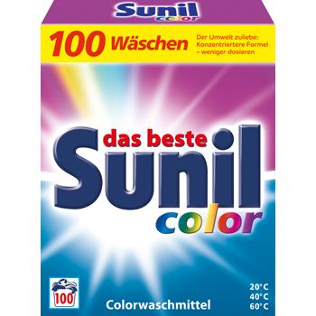Sunil Colorwaschmittel oder Vollwaschmittel