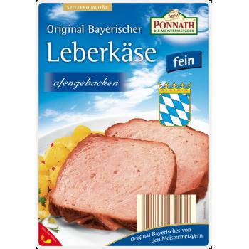Ponnath - Original Bayerischer Leberkäse oder Geflügel Leberkäse
